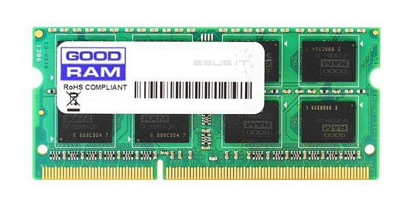 Memory RAM 1x 1GB GoodRAM SO-DIMM DDR2 667MHz PC2-5300 | GR667S264L5/1G